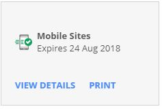 Mobile Sites  H